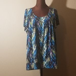 3for$20 - AGB blue/black tunic